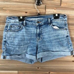 ❤️ Old Navy rolled cuff jean shorts size 12❤️